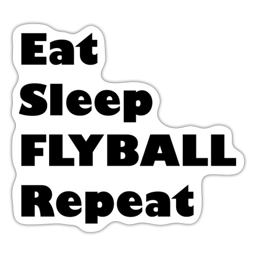 EatSleep - Sticker