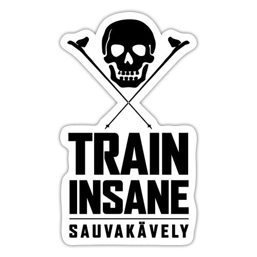 Sauvakävely - Skull t-shirt - Tarra