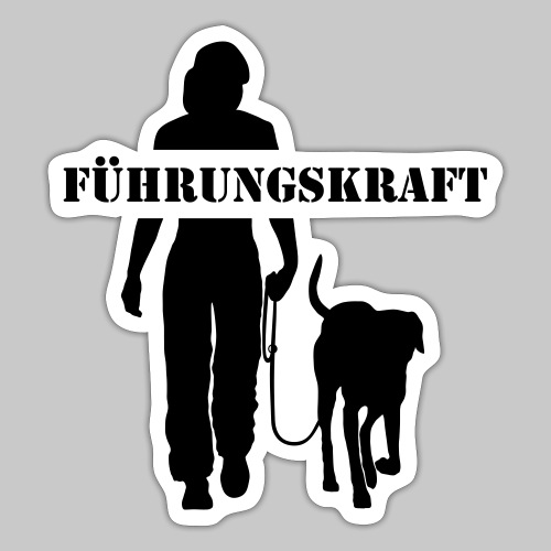Führungskraft female - Sticker