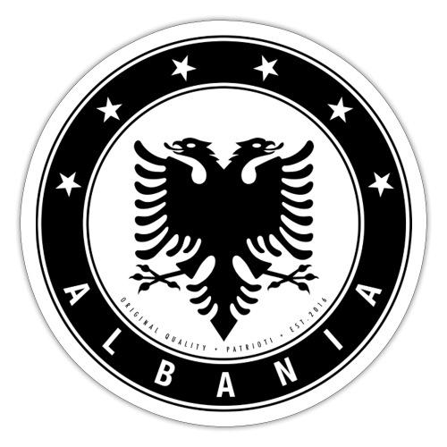 Patrioti Albania Black - Sticker