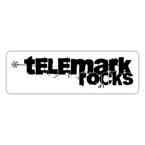 telemark rocks - Sticker