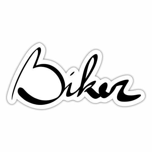 Biker - Sticker
