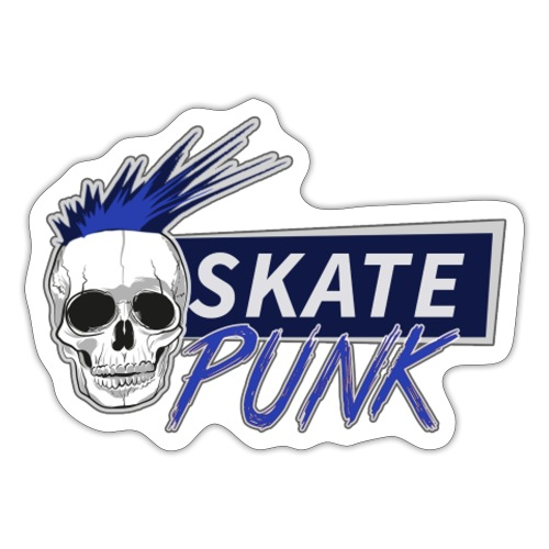 SkatePunk Logo - Sticker