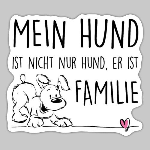 Mein Hund ist Familie - Sticker
