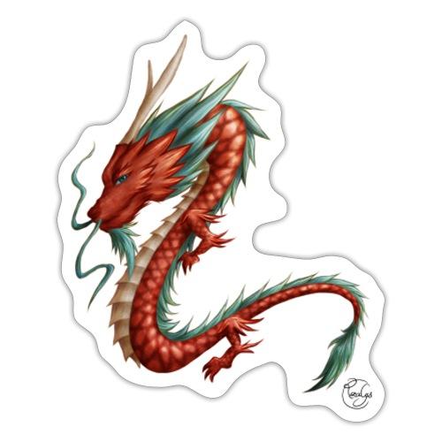 Red Dragon - Autocollant