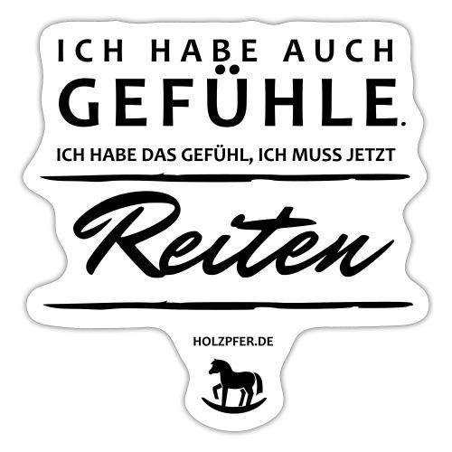 Gefühle - Reiten - Sticker