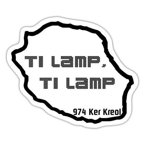 Ti lamp ti lamp - Autocollant