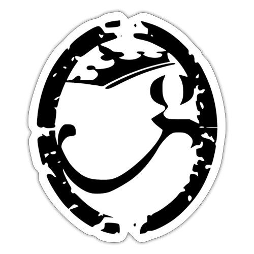 g officielblack bitm png - Autocollant