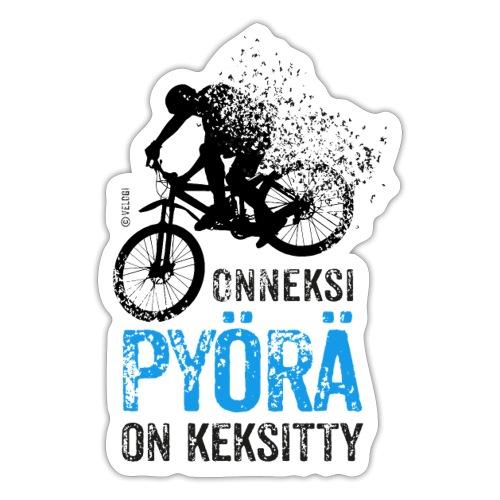 Onneksi pyörä on keksitty - MTB b - Tarra