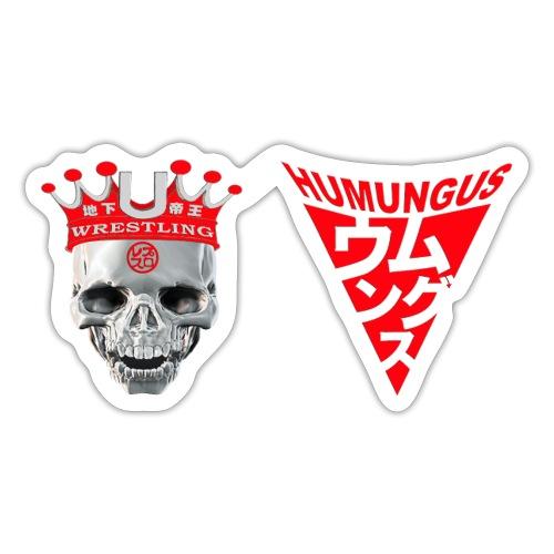 skull krone humungus3 png - Sticker