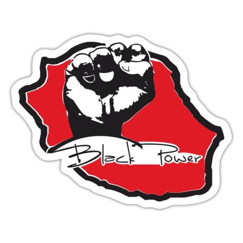 Black power 974 - Autocollant