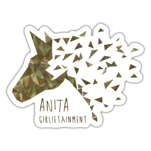 Anita Camouflage - Sticker