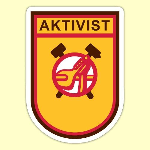Ursprungslogo Aktivist - Sticker