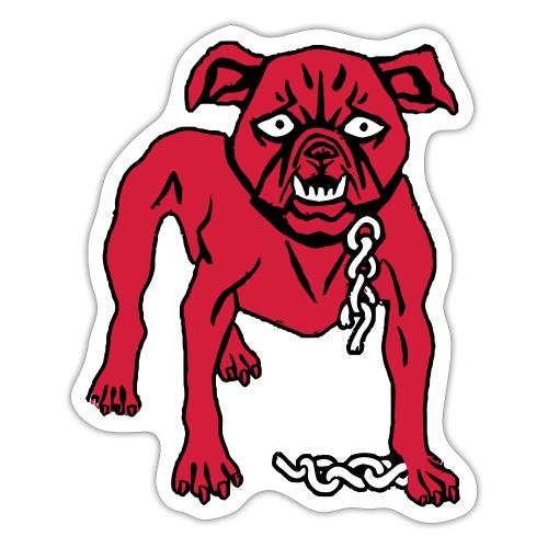 Red Dog - Sticker