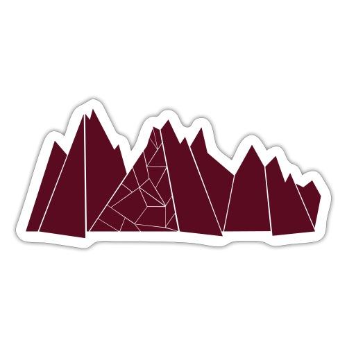 Bergkulisse - Sticker