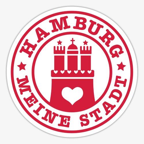 HAMBURG MEINE STADT Wappen 1c - Sticker