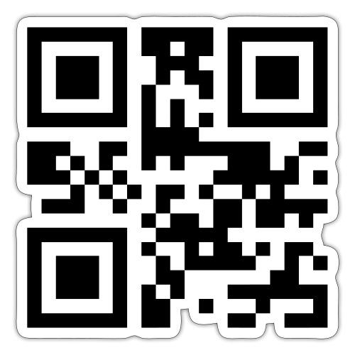 Sono Single QR Code - Adesivo