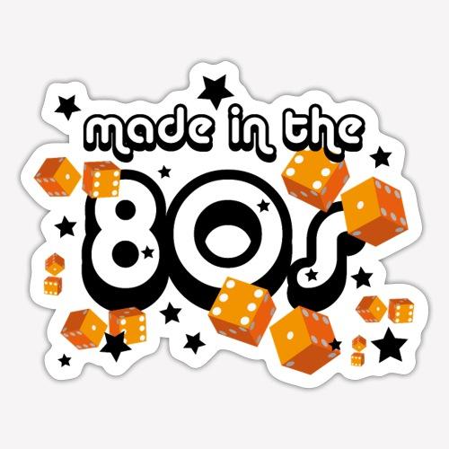 Made in the 80s – Orange - Sticker