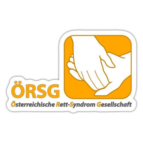 Logo der ÖRSG - Rett Syndrom Österreich - Sticker
