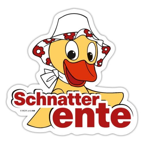Schnatterinchen Schnatterente - Sticker