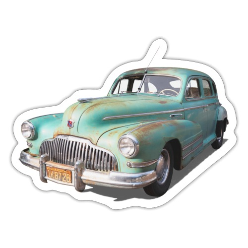 Classic car. Chrysler - Sticker