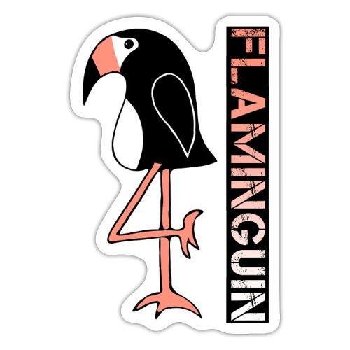 Pinguin Flamingo Flaminguin - Sticker