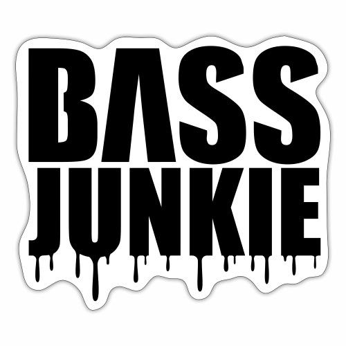 Bassjunkie Bass Junkie Music Musik Festivals DJ - Sticker