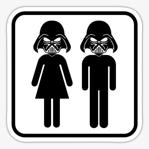 Dark Side Mother & Father - Sticker