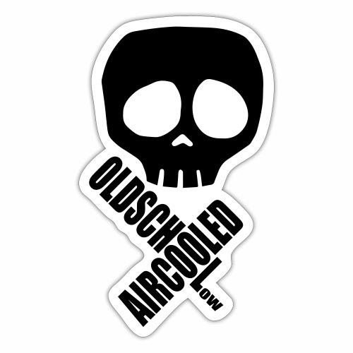 Aircooled Skull - Sticker