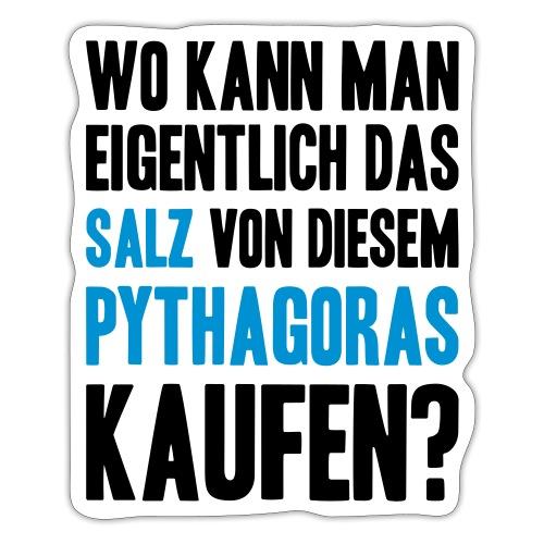Salz des Pythagoras - Sticker