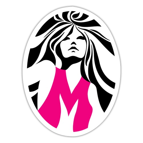 Mélody logo - Autocollant