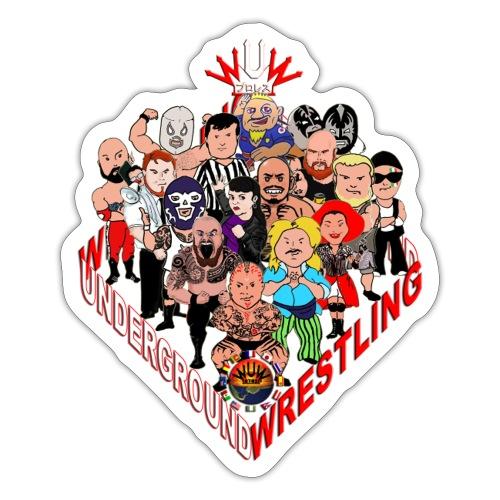 comics-wrestler - Sticker