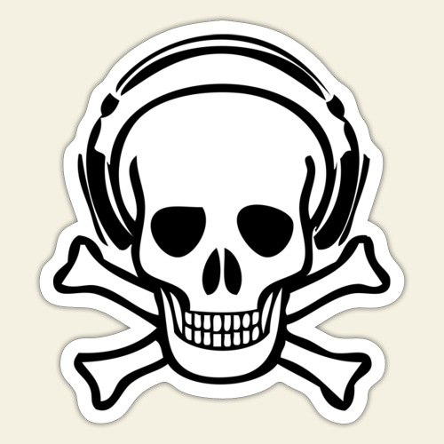 piracy - Sticker