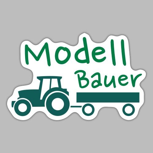Modellbauer - Modell Bauer - Sticker