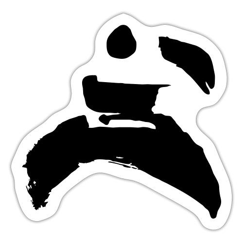kung fu - Sticker