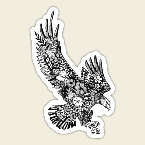 Freedom-Adler - Sticker