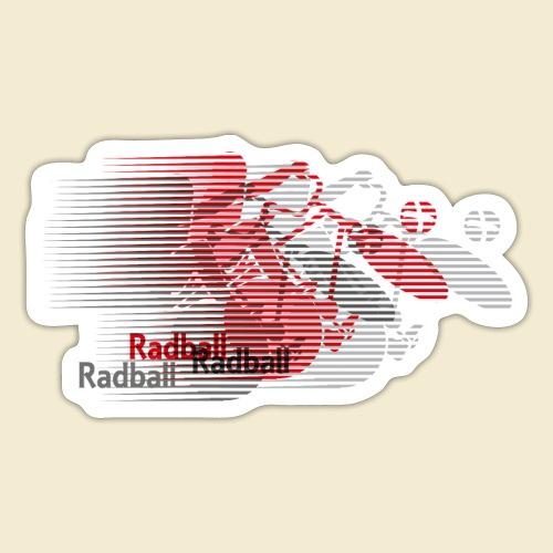 Radball | Earthquake Red - Sticker