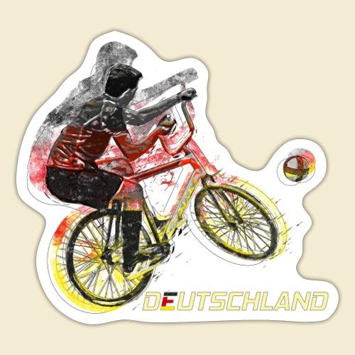 Radball   Deutschland - Sticker