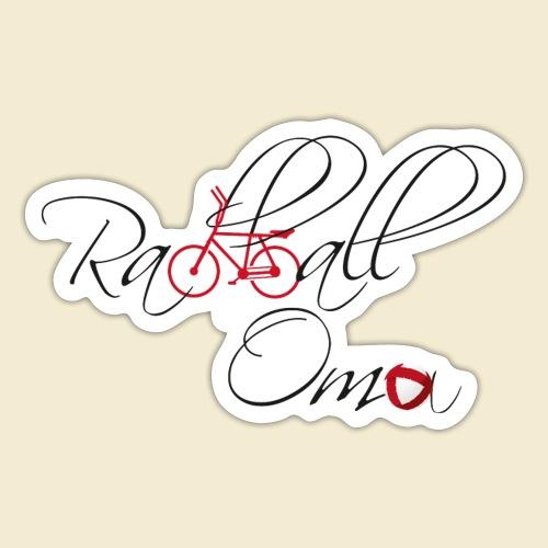 Radball | Oma - Sticker