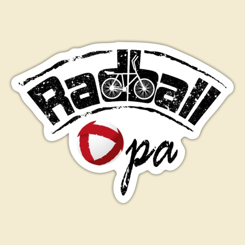 Radball | Opa - Sticker