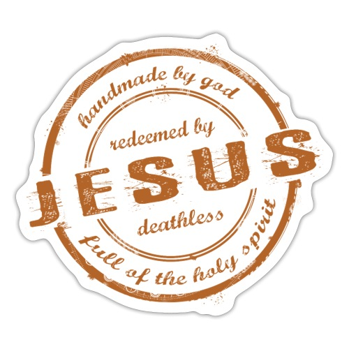 Redeemed by Jesus - Sticker
