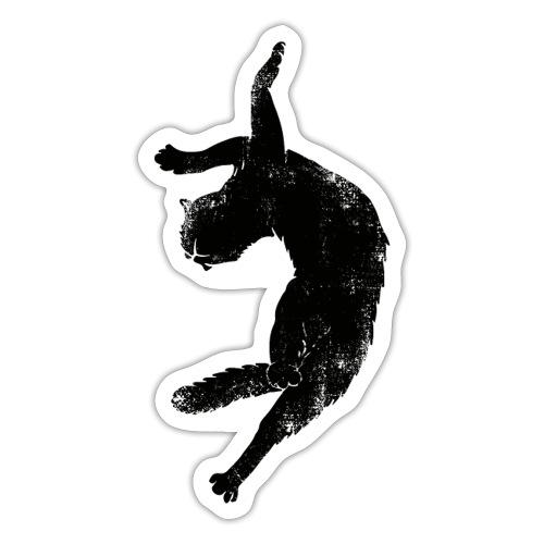 Flying cat - Klistermärke