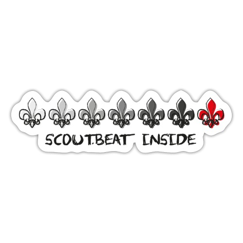 Loading Hearts - Pfadfinder Lilien - Sticker