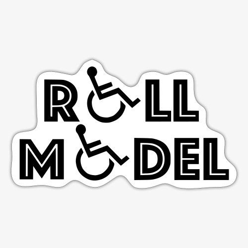 Rolstoel model - Sticker