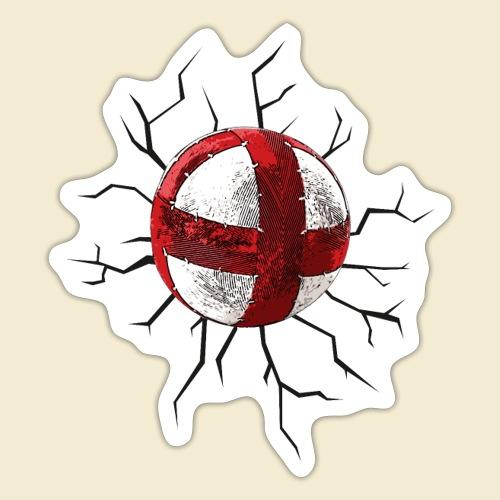 Radball | Cycle Ball Crash - Sticker