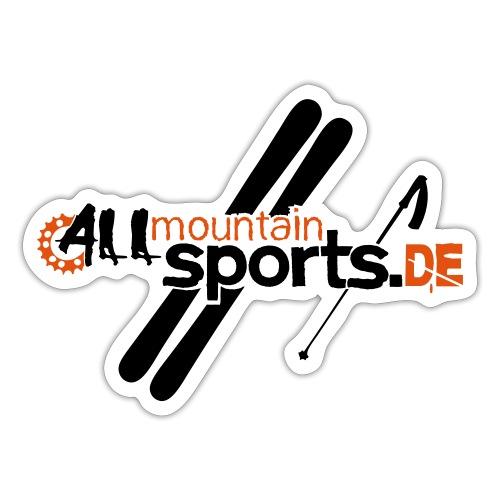 ALLmountainSPORTSde Logo - Sticker