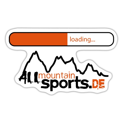 2013er ALLmountainSPORTS de Logo loading - Sticker