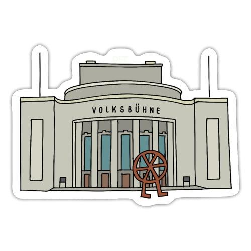 Volksbühne BERLIN - Naklejka