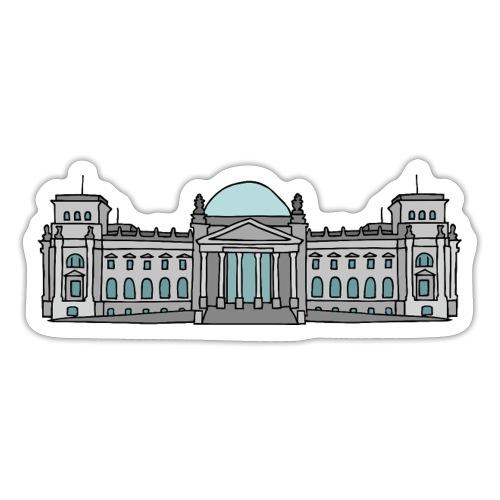 Palazzo del Reichstag a BERLINO c - Adesivo
