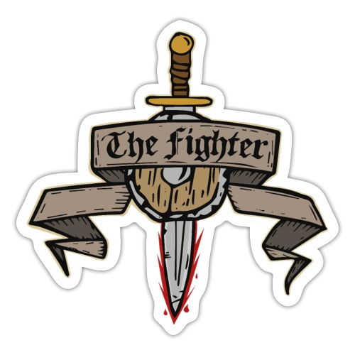 The Fighter - Sticker